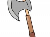 garden hand axe 10