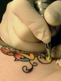 making tattoo