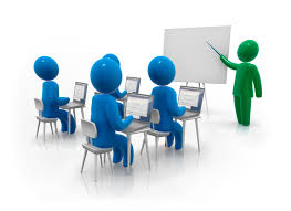 e-commerce training class illustration
